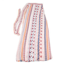 BOHO Womens Floral Gypsy Long Maxi Full Skirt Summer Beach High Waist Sun Dress