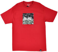 Primitive Thrashed Hot Box T-Shirt Short Sleeve Men's Skateboarding Top Cardinal