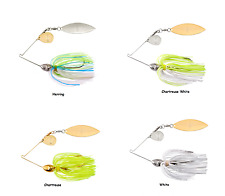 Booyah Tandem Colorado Willow Viber Wire Spinnerbait - Assorted Sizes and Colors