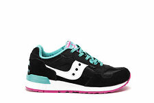 SAUCONY JUNIOR Girl Sneakers SHADOW 5000 Black Trainers Shoes SC54646