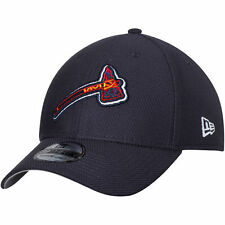 Atlanta Braves New Era 2017 Tomahawk Diamond Era 39THIRTY Flex Hat - Navy - MLB