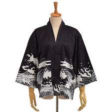 Retro Cosplay Yukata Sleeping Haori Bathrobe Vintage Japanese Fly Dragon Kimono