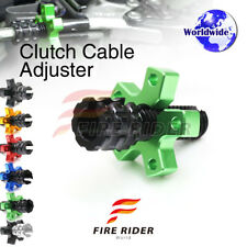 FRW 6Color CNC Clutch Cable Adjuster For Kawasaki Versys KLE650 11-16 12 13 14