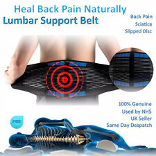 Double Pull Neoprene Lower Back Waist Belt Pain Relief Therapy Lumbar Support LC