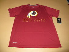 Washington Redskins JUST DO IT Men's Dri Fit Red T-Shirt by Nike New
