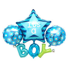 Star Heart Baby Girl Boy Foil Balloons Baby Shower Kid Birthday Party Decoration