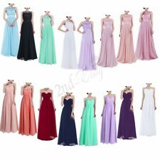 Women Lace Formal Long Dress Prom Evening Party Cocktail Bridesmaid Wedding Prom