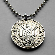 Germany 1 Deutsche Mark coin pendant German EAGLE Deutschland Berlin n001136