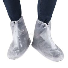 Unisex Waterproof Shoes Cover Anti-slip Reusable Rain Snow Boots Flat Overshoes