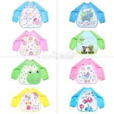 Baby Boy Girl Kid Bibs Waterproof Saliva Towel Bib Feeding Bandana Infant Apron