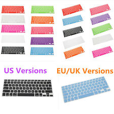 EU/ UK/ US Version Keyboard Cover Skin For Macbook Air Pro Retina MAC 13 15 17""
