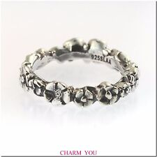 AUTHENTIC TROLLBEADS BABY'S BREATH STERLING SILVER RING