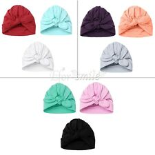 Baby Newborn Toddler Infant Boys Girls Knot Soft Hat Cap Beanie Unisex Rabbit
