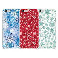 SNOWFLAKE PHONE BACK CASE COVER FOR IPHONE 5 6 6S SAMSUNG GALAXY SANWOOD POSH