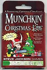 MUNCHKIN: CHRISTMAS LITE Steve Jackson Games STAND ALONE/EXPANSION Unopened OOP