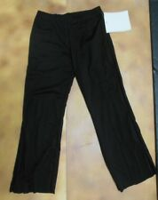 NWOT DANCE Costume JAZZ PANTS CHILD/ADULT Wolff Fording Black Small Adult