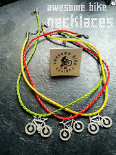 Bicycle Necklace Lovely Gift for Cyclists & Bike Rider AwesomeBike XT DH Xmas