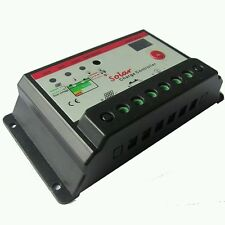 PWM 10A/20A/30A Solar Panel Charge Controller Regulator 12V/24V
