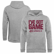 Eastern Kentucky Colonels Youth Got Game Pullover Hoodie - Ash - NCAA