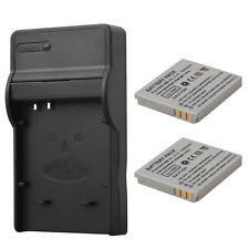 2x 1000mAh NB-4L Battery Pack & Charger For Canon IXUS 40 50 55 60 65 80 100 I20