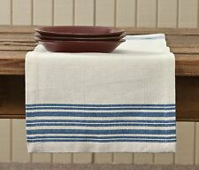 Portsmouth Table Runner by Park Designs, Cobalt Blue & Cream, 13x36 or 13x54