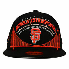 San Francisco Giants New Era MLB 8X World Series Champions 59FIFTY Cap Hat Time