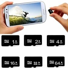100% true 1/2/4/8/16/32/64/128GB Micro SD Memory Card TF Flash FREE SD Adapter