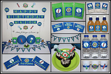 ** SCIENCE PERSONALISED Boys Girls Birthday Party Decorations Supplies **
