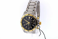 Men's Movado 2600098 SERIES 800 Chronograph Two-tone Stainless Black Dial Watch