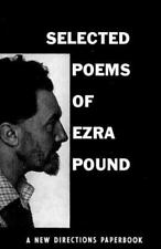 Selected Poems of Ezra Pound (New Directions Paperbook) Pound, Ezra Paperback