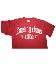 CAUSING CHAOS SINCE 1981 - Birthday T-shirt gift funny present vintage fun age
