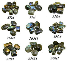 87ct-306ct Big Rare Natural Labradorite Loose Gemstones Cabs Wholesale Lot