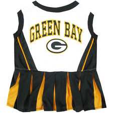 Green Bay Packers NFL Dog Pet Cheerleader Dress (Sizes)