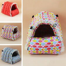 New Hamster House Soft Detachable Guinea Pig Hammock Pet Squirrel Colorful Bed