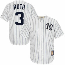Babe Ruth Majestic New York Yankees Baseball Jersey - MLB