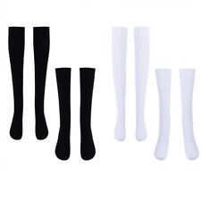 Women's Thigh High Stockings Opaque Tights Over the Knee Calf Nylon Socks Girls