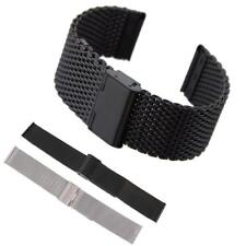 18mm/20mm/22mm Mesh Stainless Steel Band Strap Bracelet Watch Strap Band Unisex