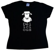 Delicious Sheep Funny Ladies T-Shirt