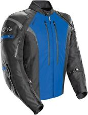 Joe Rocket Atomic 5.0 Mens Textile Motorcycle Jacket - Black/Blue
