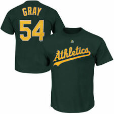 Sonny Gray Oakland Athletics Majestic Official Name and Number T-Shirt - MLB