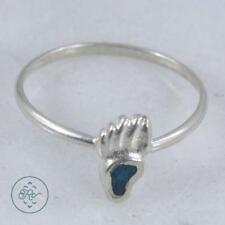 Sterling Silver | SOUTHWESTERN Turquoise Bear Paw | Ring