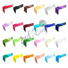 """12"""" x 108"""" Satin Table Runner Wedding Party banquet venue christmas Decorations"""