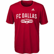 Fc Dallas Adidas Youth Performance Sprint S/S T-Shirt
