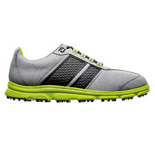 FootJoy SuperLites CT Golf Shoes Grey/Black/Green 58118 Closeout Mens Spikeless