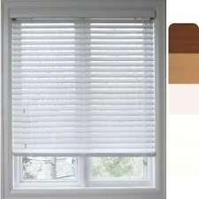 Arlo Blinds Customized Faux Wood 41-inch Window Blinds