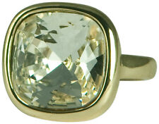 CLEAR CRYSTAL SQUARE RING