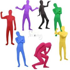 One Piece Adult Unisex Full Body Lycra Spandex Zentai Catsuit Bodysuit Skin Suit