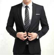 Mens Fit Fashion Suits one-button tie Size @@@@@@@@