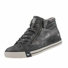 NEW Mustang Ladies Shoes High Top Trainers Boots Ankle Boots Lace Up