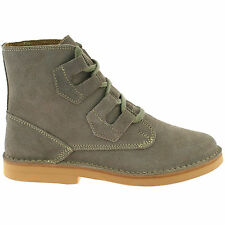 MENS ROAMERS SUEDE LEATHER DESERT BOOTS SIZE UK 6 - 12 GHILLIE LACE UP M327TS KD